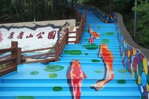 云浮崖鹰山公园彩绘项目