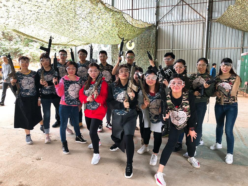 广州团队拓展活动
